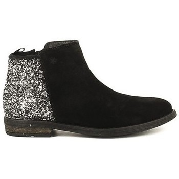 Chaussures Fille Bottines Acebo's 8035PV Noir