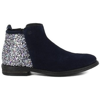 Chaussures Fille Bottines Acebo's 8035PV bleu
