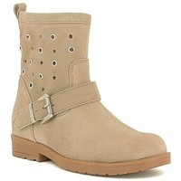 Chaussures Fille Bottines Gioseppo NAIARA Beige