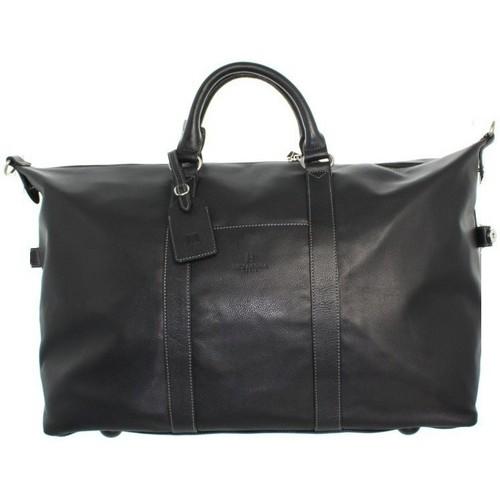 Sacs Homme Sacs porté main Hexagona Sac de voyage  en cuir ref_xga33930 Noir 65*38*21 Noir