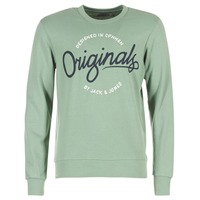 Vêtements Homme Sweats Jack & Jones SWEEP ORIGINALS Vert