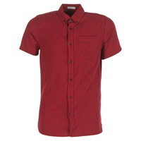 Vêtements Homme Chemises manches courtes Jack & Jones JOHAN ORIGINALS Rouge