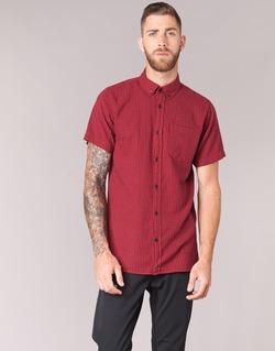 Vêtements Homme Chemises manches courtes Jack & Jones JOHAN ORIGINALS Rouge