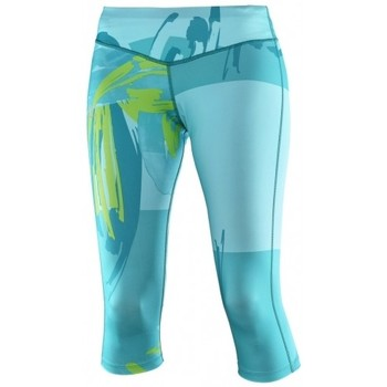 Vêtements Femme Leggings Salomon Collant  Elevate 3/4 Tight Blue Bird Cyan