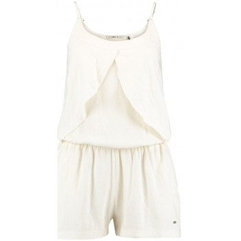Vêtements Femme Combinaisons / Salopettes O'neill Combishort  Ruffle Jersey Playsuit White Cream