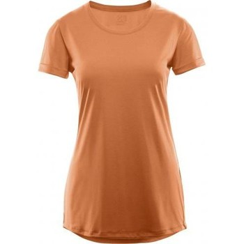 Vêtements Femme T-shirts manches courtes Haglöfs T-shirt Haglofs Ridge Hike Tee Women Peach Orange