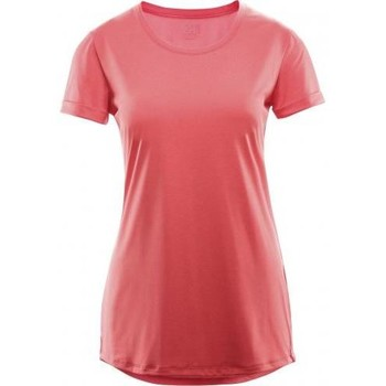 Vêtements Femme T-shirts manches courtes Haglöfs T-shirt Haglofs Ridge Hike Tee Women Carnelia Rose