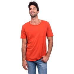 Vêtements Homme T-shirts manches courtes Nudie Ove 493 orange - t-shirt homme orange