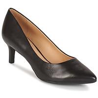 Chaussures Femme Escarpins Geox D ELINA C - CAPRA NAPPATA Noir