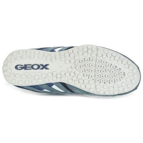 Geox U SNAKE K - SCAM.+MESH Bleu