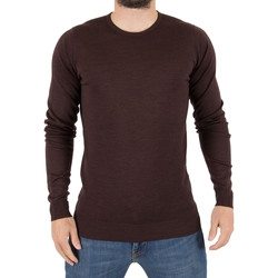 Vêtements Homme Pulls John Smedley Homme Lundy Longsleeved Knit, Rouge rouge