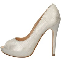Chaussures Femme Escarpins Silvana 780 Chaussure avant ouverte Femme Cream Cream