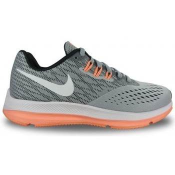 Chaussures Femme Baskets basses Nike Basket Zoom Winflo 4 Gris