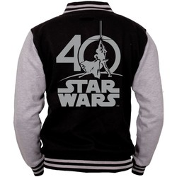 Vêtements Sweats Cotton Division Teddy Star Wars 40 ans - 40TH  Anniversary Multicolor