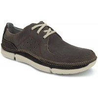 Chaussures Homme Baskets basses Clarks Tikeyon Fly Marron