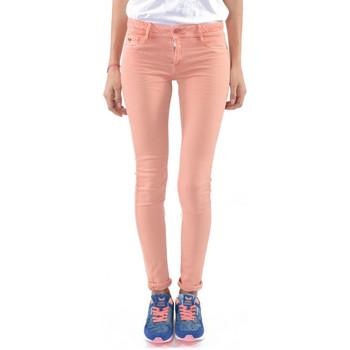 Vêtements Femme Jeans slim Kaporal Jean Femme Power Pêche Orange