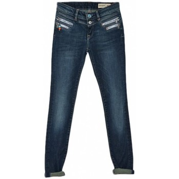 Vêtements Fille Jeans droit Kaporal Jean Slim Loz Bleu Bleu