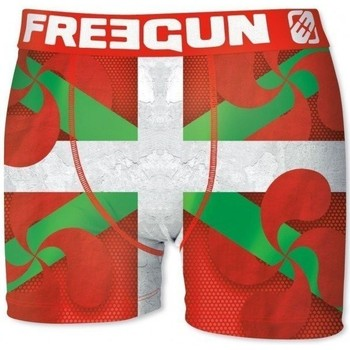Vêtements Homme Boxers / Caleçons Freegun Boxer Homme Microfibre BASPLA Vert Rouge rouge