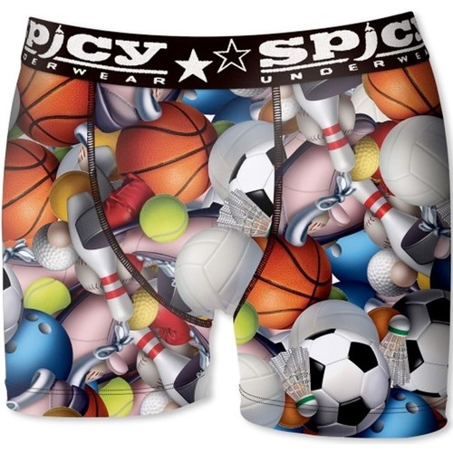 Vêtements Homme Boxers / Caleçons Spicy Underwear Boxer Homme Microfibre SPORTS Multicolore Multicolor
