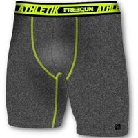 Vêtements Homme Boxers / Caleçons Freegun Boxer Long Homme Microfibre ATH Anthracite Vert AKTIV Gris