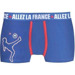 Vêtements Garçon Boxers / Caleçons Fff Boxer Garçon Coton CAPITAINE Bleu bleu
