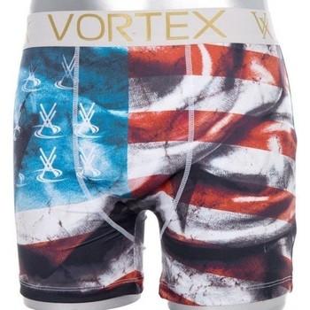 Vêtements Garçon Boxers / Caleçons Vortex Boxer Garçon Microfibre FLAG Rouge rouge