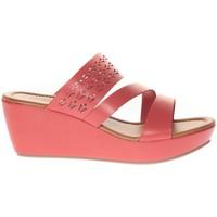 Chaussures Femme Sandales et Nu-pieds Vera & Lucy Sandale Compensé  Rouge 78-35 Rouge