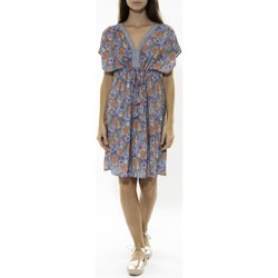 Vêtements Femme Robes courtes Jad Robe Grenadine Bleu Bleu