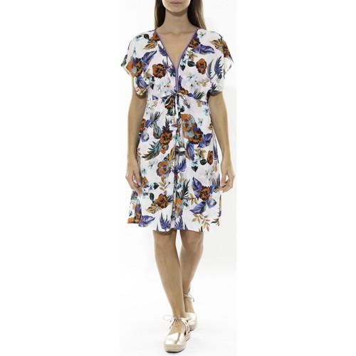 Vêtements Femme Robes courtes Jad Robe Grenadine Blanche Blanc