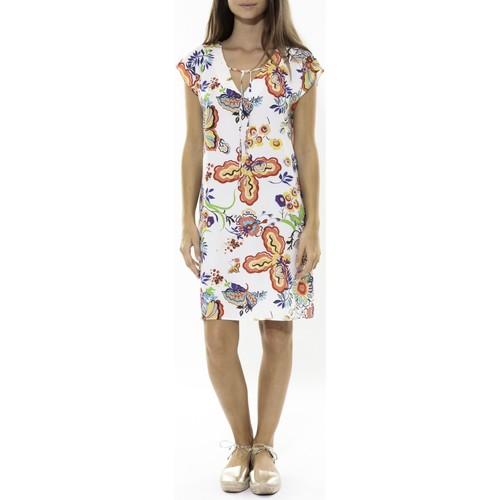 Vêtements Femme Robes courtes Jad Robe Savane Blanc Blanc