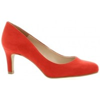 Chaussures Femme Escarpins So Send Escarpins velours rouge