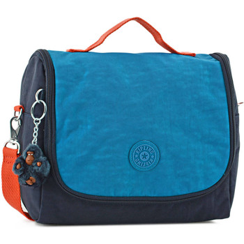 Sacs Enfant Cartables Kipling Sac gouter 1 compartiment BACK TO SCHOOL 110-00015289 BLUE ORANGE BL