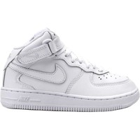 Chaussures Enfant Baskets montantes Nike FORCE 1 MID (PS) Blanc