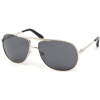Montres & Bijoux Homme Lunettes de soleil Eye Wear Lunettes Polarisante Artic avec monture Argent Gris