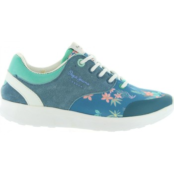 Chaussures Fille Baskets basses Pepe jeans PGS30292 AMANDA Azul