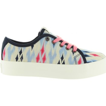 Chaussures Fille Baskets basses Pepe jeans PGS30274 HANNAH Azul