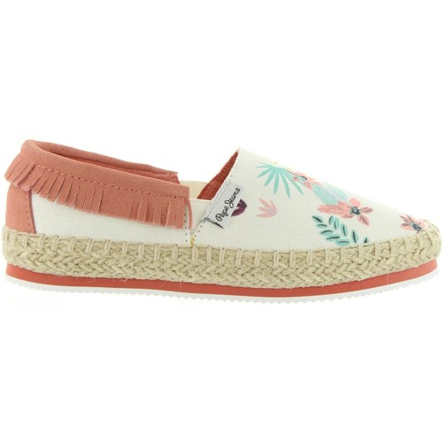 Chaussures Fille Espadrilles Pepe jeans PGS10144 GAME Blanco