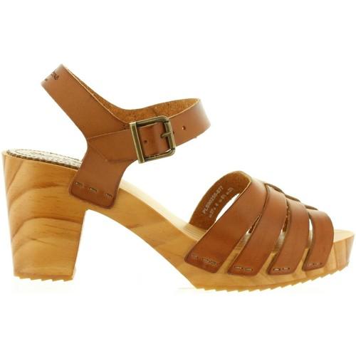 Chaussures Femme Sandales et Nu-pieds Pepe jeans PLS90255 OLY Marrón