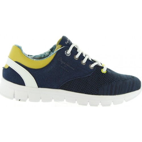 Chaussures Enfant Baskets basses Pepe jeans PBS30272 COVEN Azul