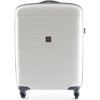 Sacs Valises Rigides Roncato 413483 Trolley cabine 4 roulettes Bagages Bianco Bianco