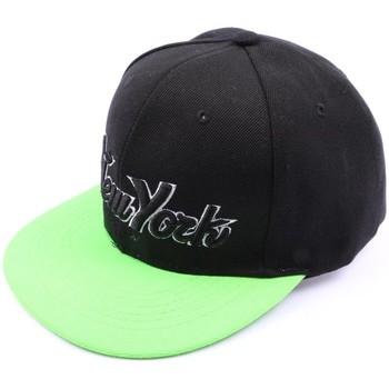 Accessoires textile Homme Casquettes Hip Hop Honour Snapback Noir et verte Vert