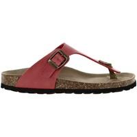 Chaussures Femme Tongs La Maison De L'espadrille 3511 rouge