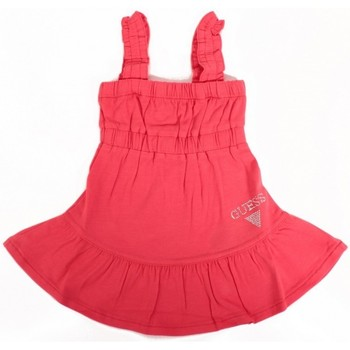 Vêtements Fille Robes courtes Guess Robe  SL Dress Corail Orange