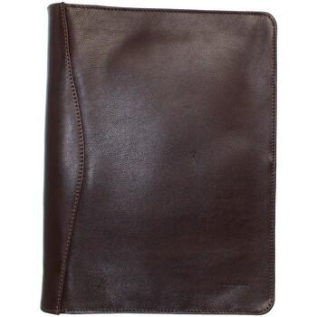Sacs Portefeuilles Katana Conférencier Classeur  cuir ref_kat40624 chocolat Marron
