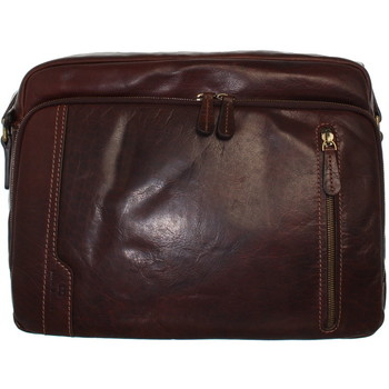 Sacs Homme Besaces David William Besace  ref_lhc40839 marron marron