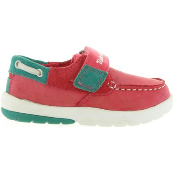 Chaussures Enfant Chaussures bateau Timberland A19V2 TODDLETRACKS Rosa