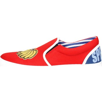 Chaussures Homme Slips on Beat Generation VS(C) Slip-on Chaussures Homme Rouge Rouge