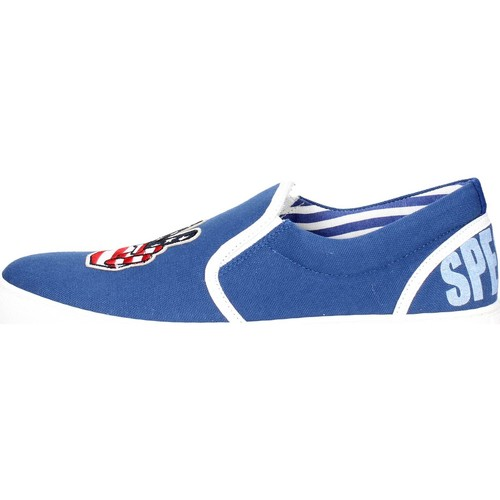 Chaussures Homme Slip ons Beat Generation VS(B) Slip-on Chaussures Homme Bleu Bleu