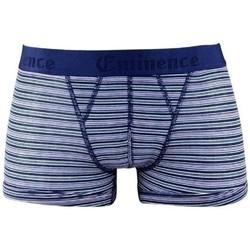 Sous-vêtements Homme Boxers Eminence MICROCOTON bleu