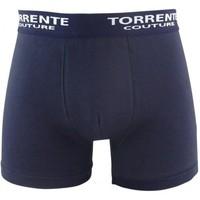 Sous-vêtements Homme Boxers Torrente Boxer Homme Coton CLASSIC Marine Bleu